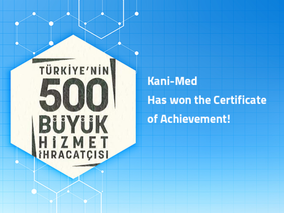 Kani-Med Has won the Certificate Of Achievement!