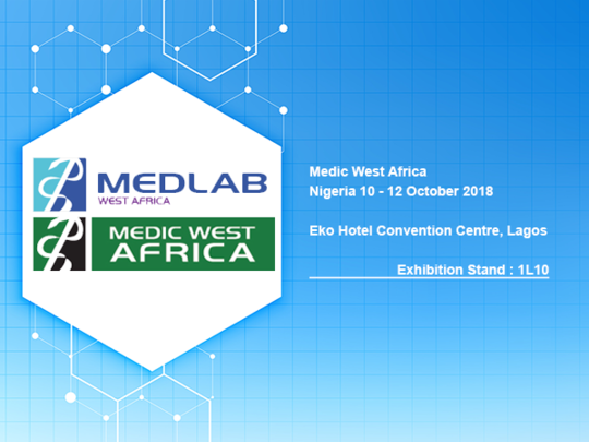 MEDLAB West Africa 10 - 12 October 2018