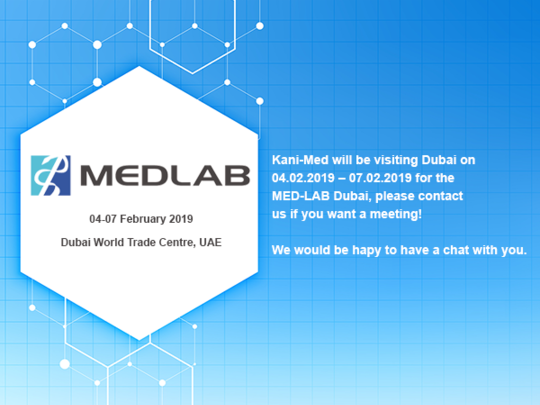 MED-LAB Dubai 04 – 07 February 2019