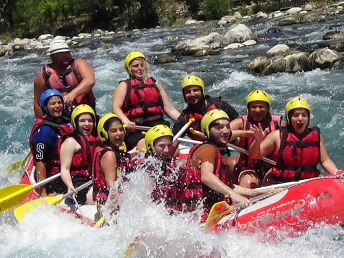 Rafting at Beskonak - About Beskonak Rafting Tour