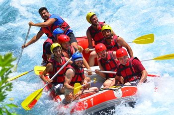 How Long Does Rafting Take? Rafting Track and Tour Duration in Antalya