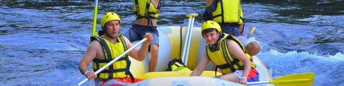 Rafting Tour Guides, Antalya Rafting Tours