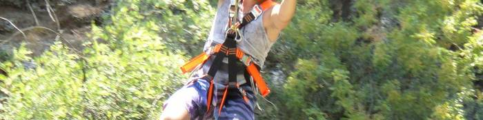Zipline Tour, Zipline in Antalya Koprulu Canyon Area