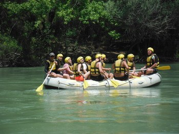 Antalya With Blue Rafting Waters Koprucay Koprulu Canyon