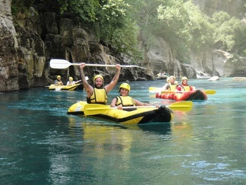 Canyon Tour - Antalya Canyoning Tour - Korpulu Canyon - Antalya
