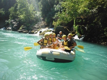 Side Rafting Tour, Koprulu Kanyon Rafting Tours, Antalya Side Tours