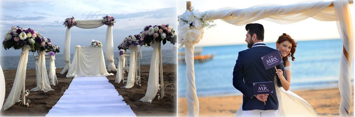 wedding planner Antalya Turkey beach