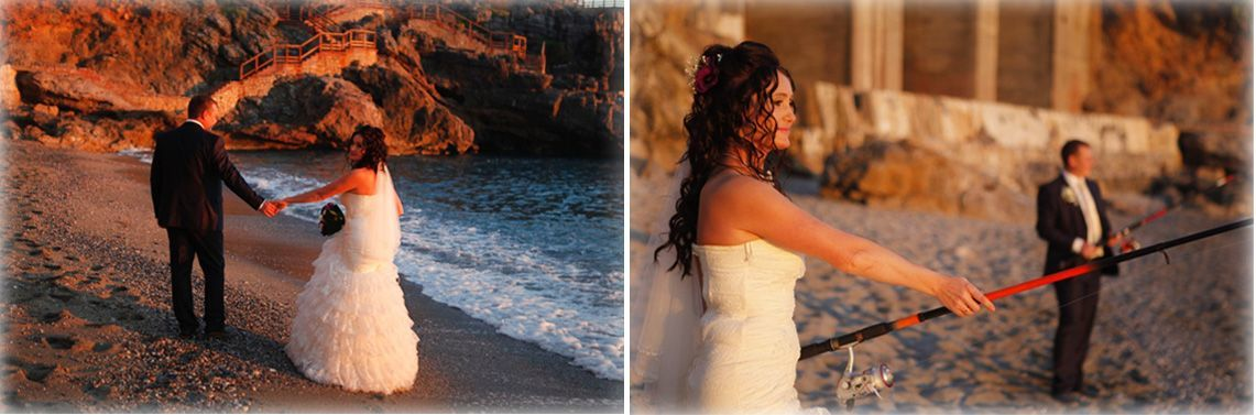 wedding planner Turkey beach