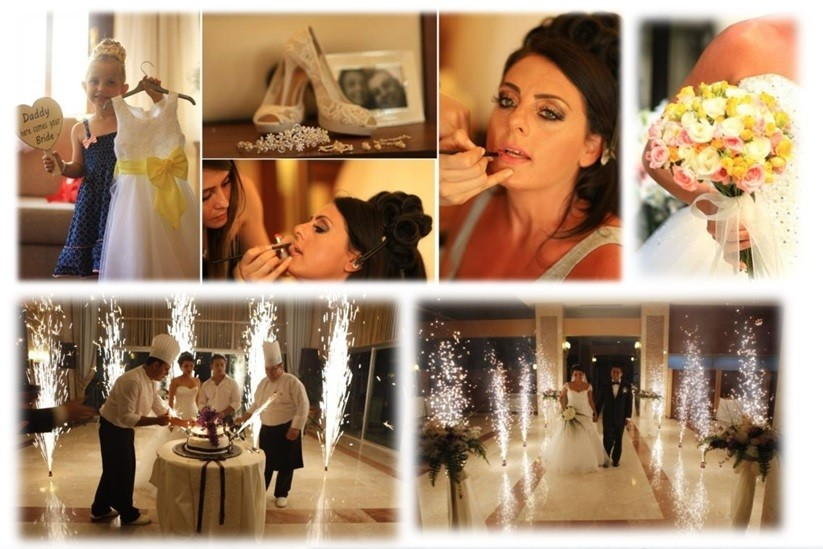 luxury wedding dress in antalya
