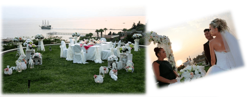 best wedding designer in antalya