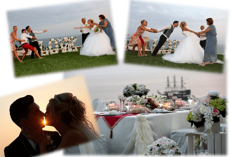 best wedding decoration in antalya
