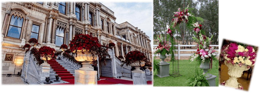 wedding city istanbul , wedding planner ciragan palace