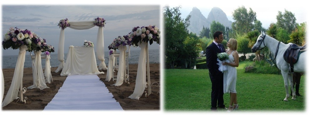 Wedding Planner In Turkey Antalya