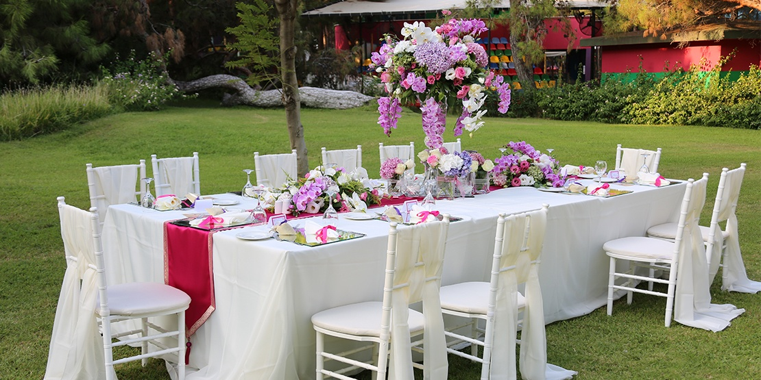 Wedding Decoration Pictures In Antalya Mediterranean Beach