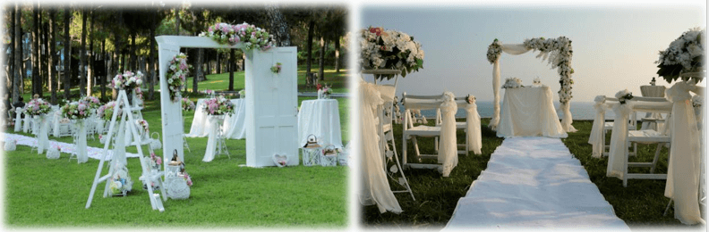 beach wedding antalya