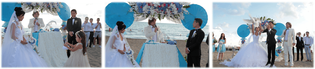 wedding on beach in antalya