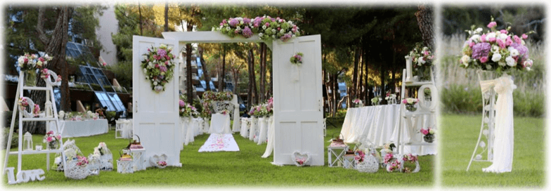 wedding at the hotel in Turkey