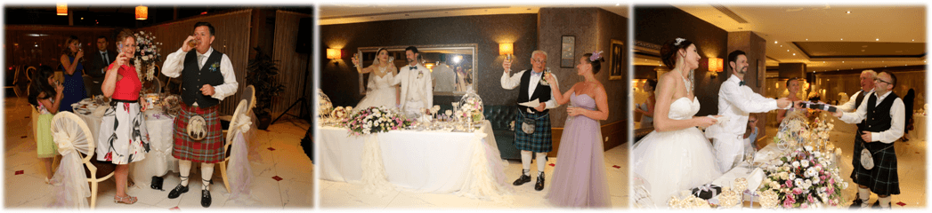 scottish wedding in antalya