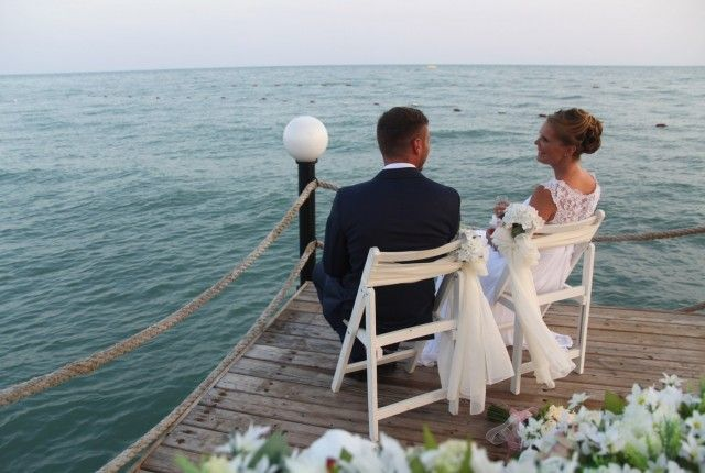 german wedding in turkey antalya