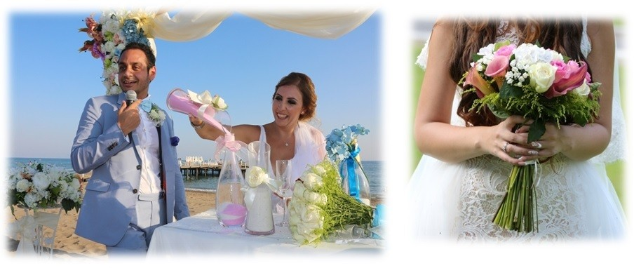 Iranian Wedding On Beaches Antalya