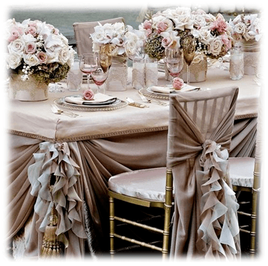 Bridal Table In Antalya