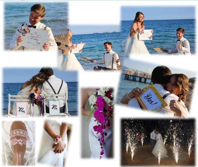 Romantic Wedding In Turkey Antalya
