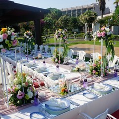 wedding dinner decoration Antalya