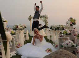 German wedding in Antalya