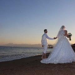 Wedding by seaside in Antalya