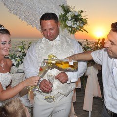 Wedding Champagne In Antalya