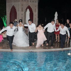 Wedding In The Pool