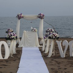 Wedding Ceremony at the beach in Antalya