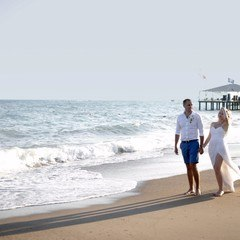 Romantic Weddings in Beach in Antalya