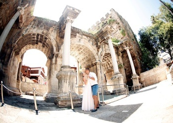 wedding in historical places in antalya