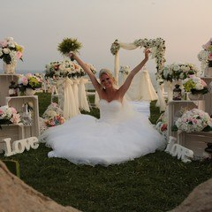 Marriage at the beach in Antalya