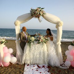 Wedding Ceremony At The Beach In Turkey