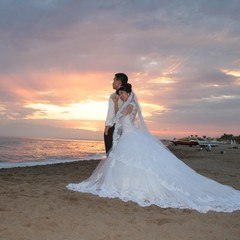 Beach Wedding Ceremony in Antalya Turkey