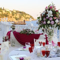 English wedding ceremony in Turkey