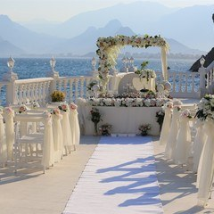 iranian wedding at beach in antalya