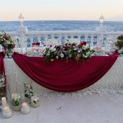 seaside wedding in turkey