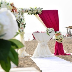 Luxury hotel wedding in Turkey