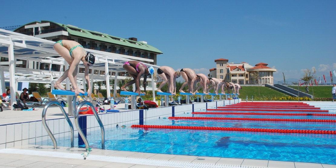 Professional swim training camp in Antalya