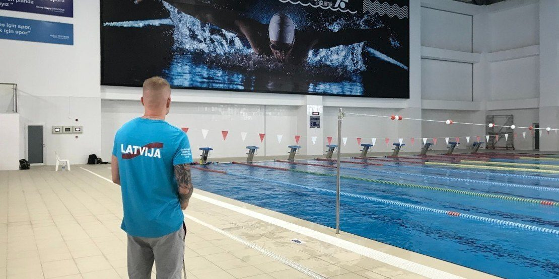 Professional Training camp in Antalya for swimmers