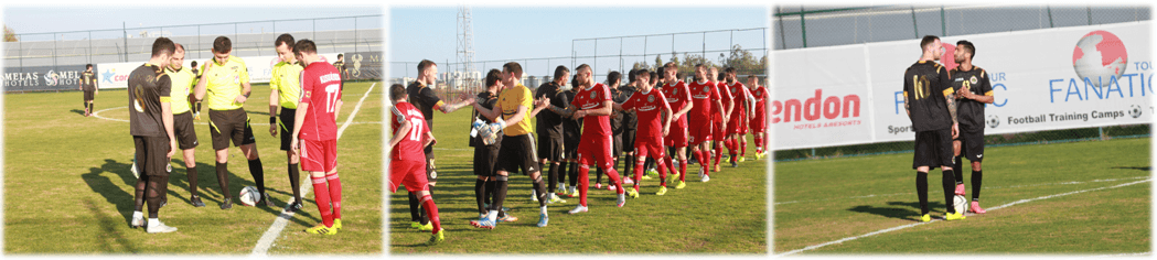 football player training in Antalya Belek side
