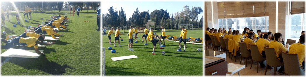 Winter football camp in Antalya
