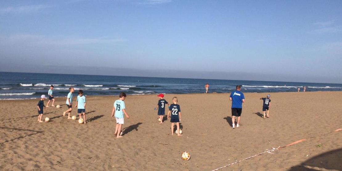Football Training Camps for Children in Antalya