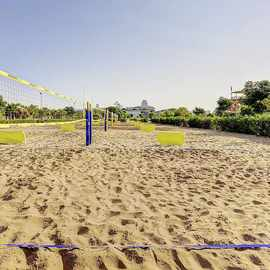 Beach volleyball camps in Jacaranda hotel in Antalya