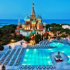 Wow Kremlin Palace hotel in antalya