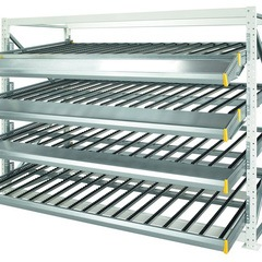 FLOW RACKS FOR BOXES (4)