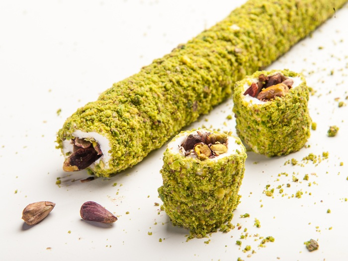 Pasha Wrapped Delight with Special Pistachio